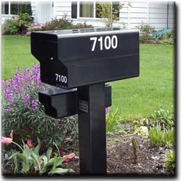 "Fedex Pickup Fee >> FORT KNOX MAILBOX ~ 3"" Reflective Vinyl Address Decals for ..."